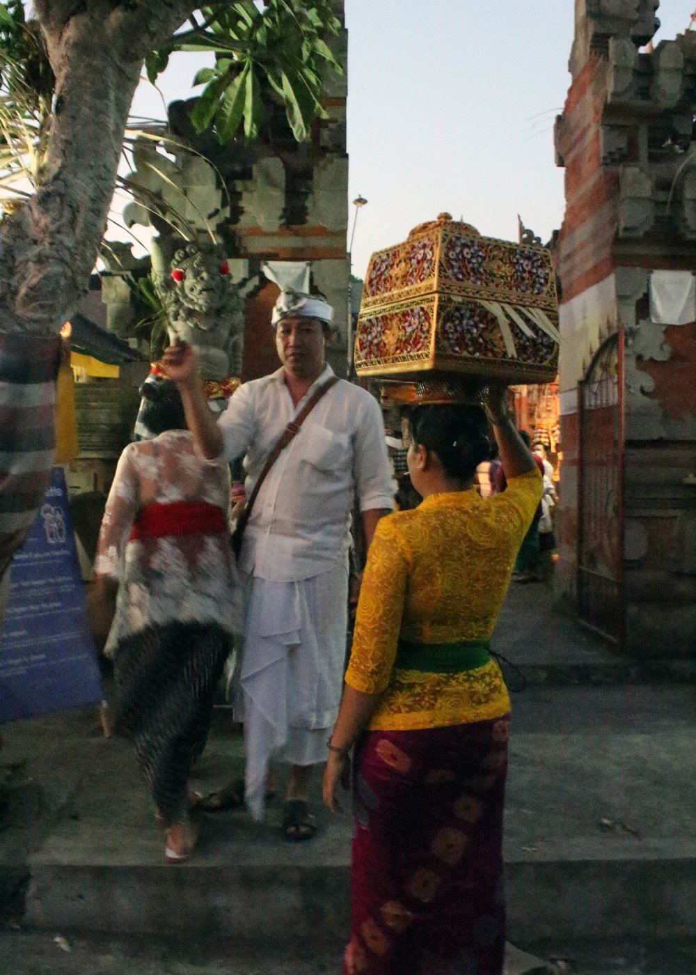 Traditional Balinese ceremony