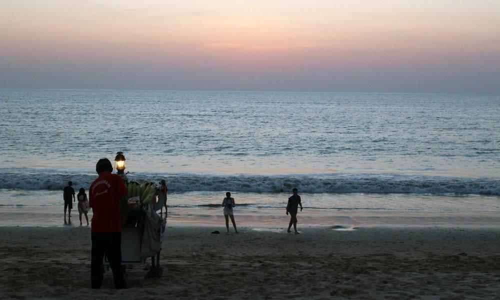 Taking in that beautiful Balinese sunset