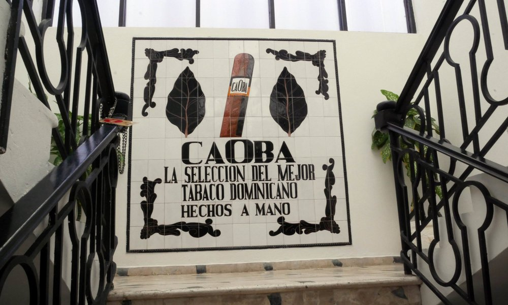 Entrance to Caoba Cigars