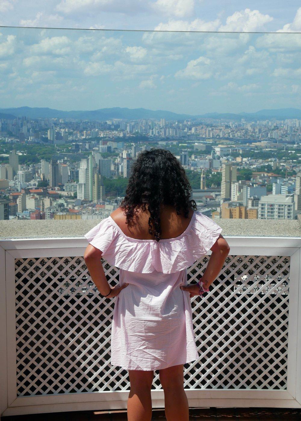 São Paulo city views