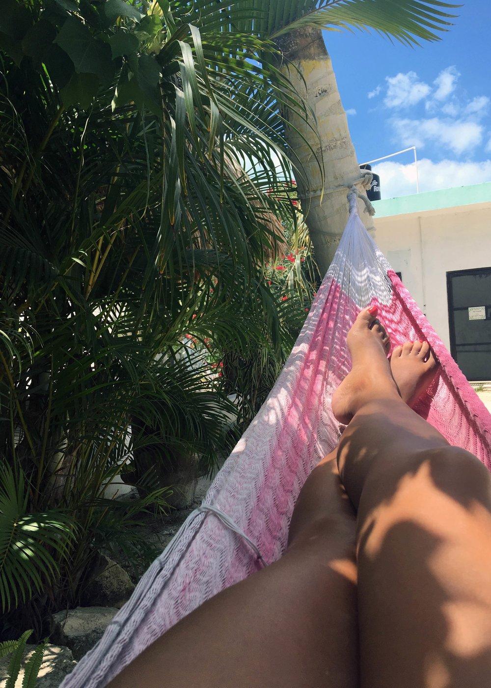 holbox mexico hammock