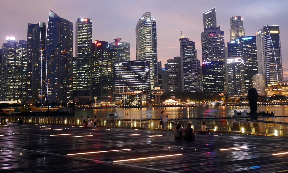 Singapore's spectacular skyline