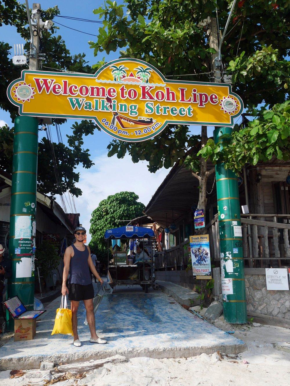 Walking Street, Koh Lipe's main hub