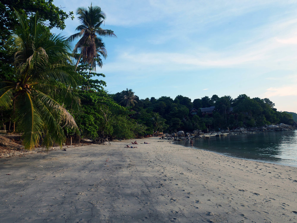 Koh Lipe's beautiful Sunset Beach, my personal favourite on the island