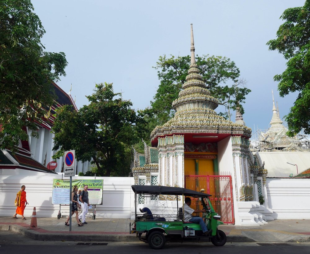 Bangkok, a true amalgamation of the old, the new, the eccentric and the gritty