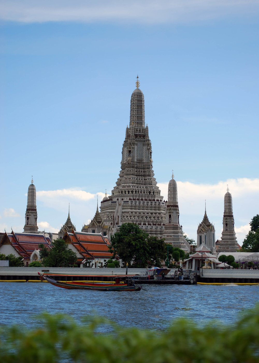 Wat Arun, from the river