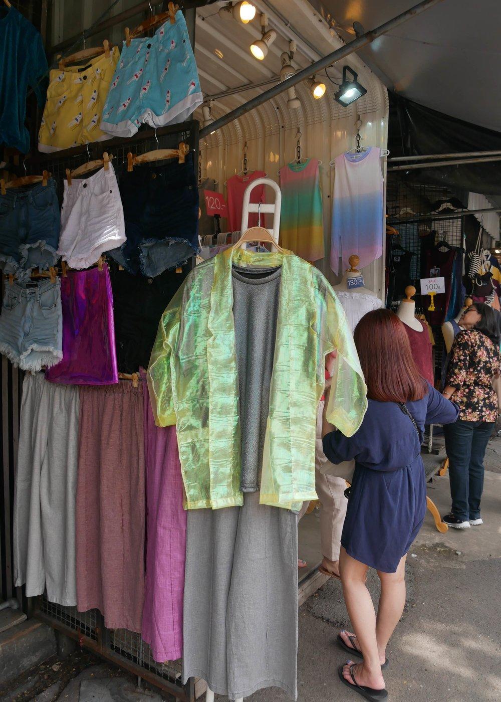 Bargains at Chatuchak Market