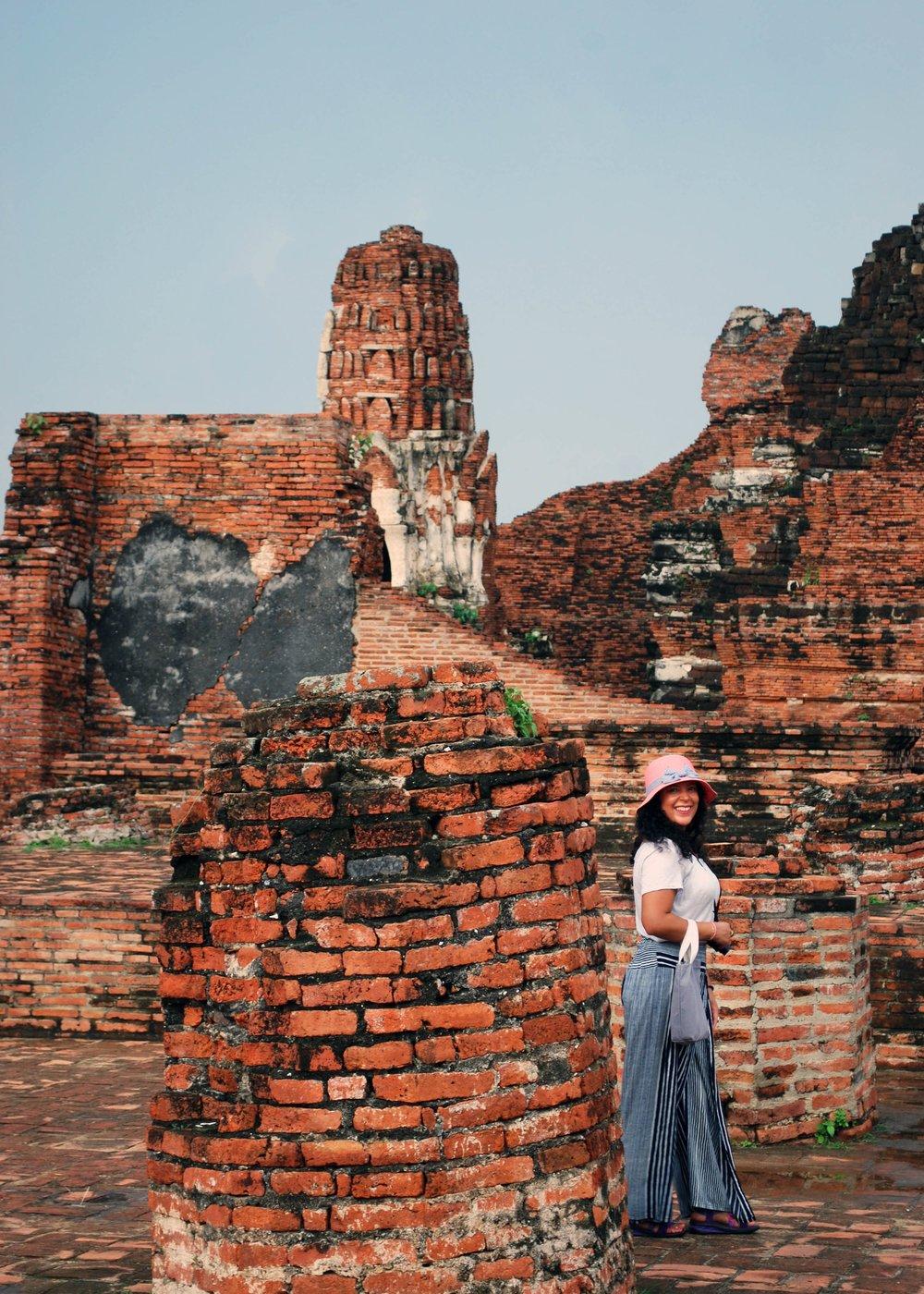 Wandering about Ayutthaya