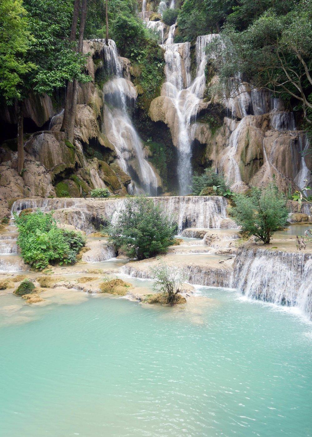 Kuang Si Falls are simply glorious