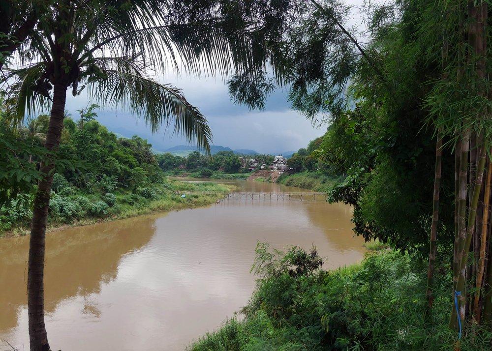 Views along the Mekong River, Luang Prabang