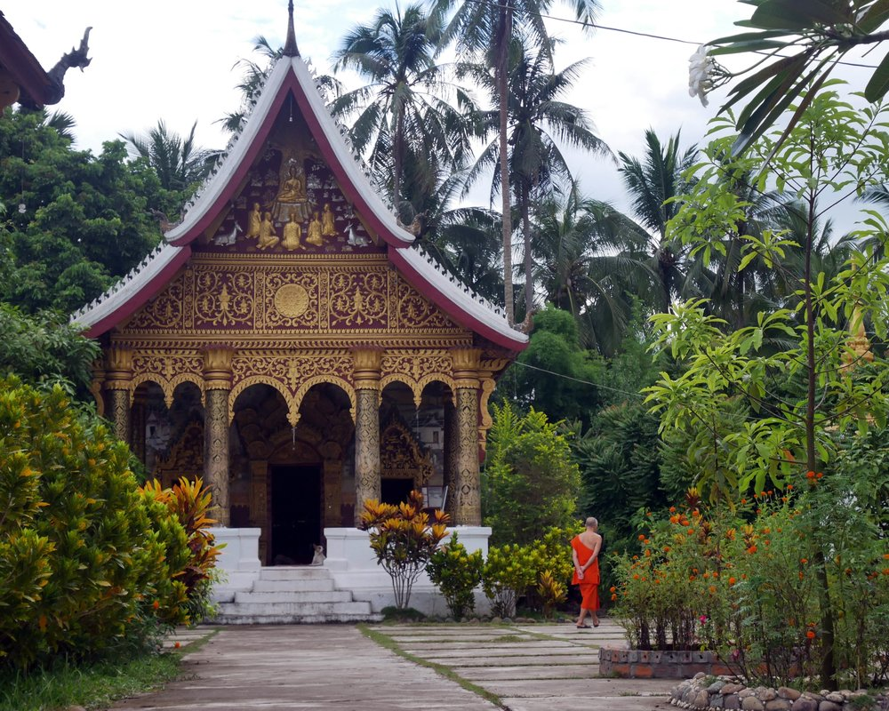 The quiet temples of Luang Prabang