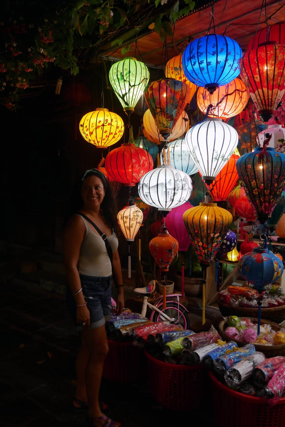 Hoi An lanterns by night