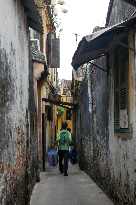 Hoi An's alleyways