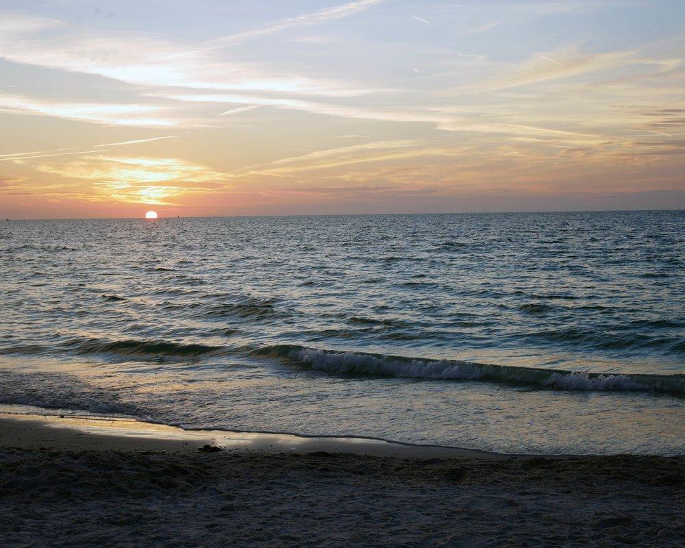 Sunset on St Pete Beach, Florida