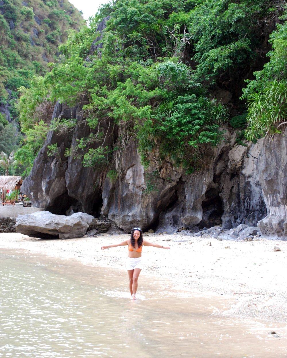 Free as a bird on Freedom Island, Halong Bay, Vietnam