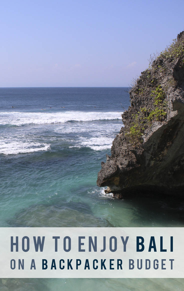 How To Enjoy Bali on a Backpacker Budget