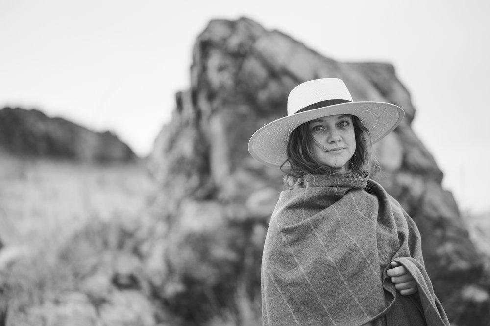 Ann Whittaker, Antelope Island, April 2016 Photo: Jay William Henderson
