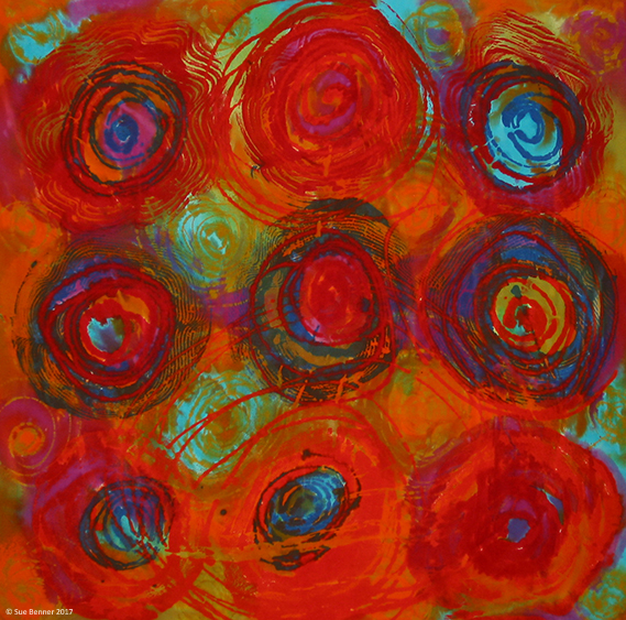 BennerSue_Red Blue Turq Circles-R©.jpg