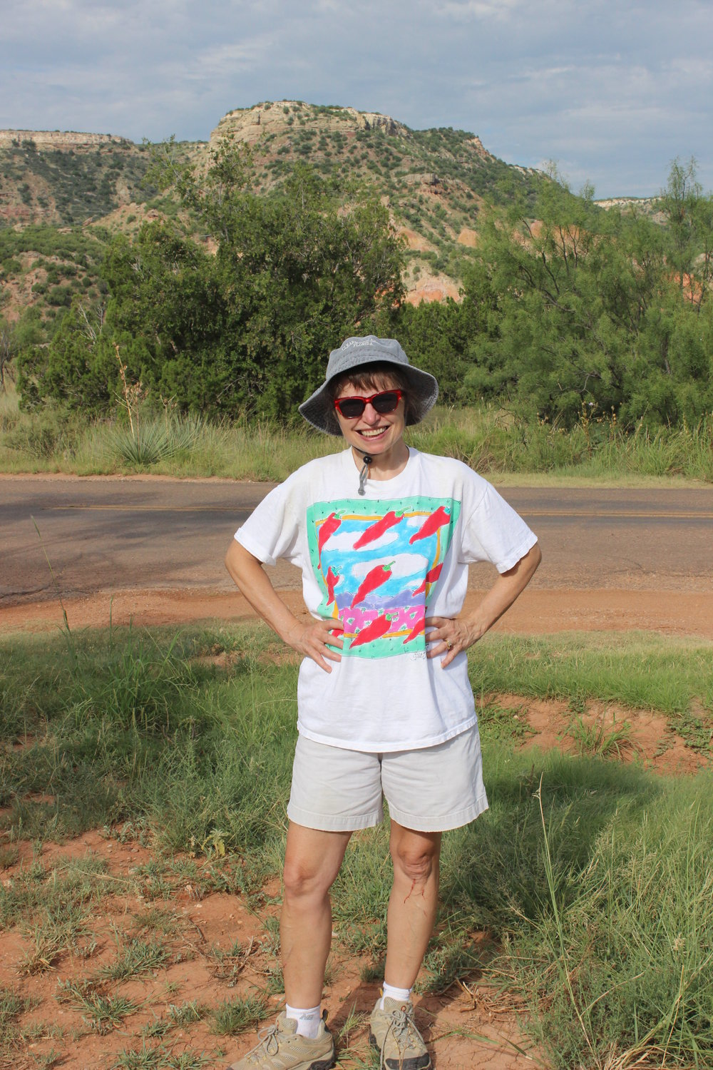 Benner on reconnaissance trip to Palo Duro Canyon.