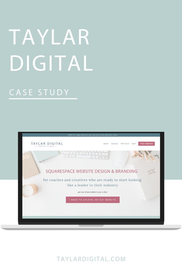 Taylar Digital rebrand squarespace website design 2.png