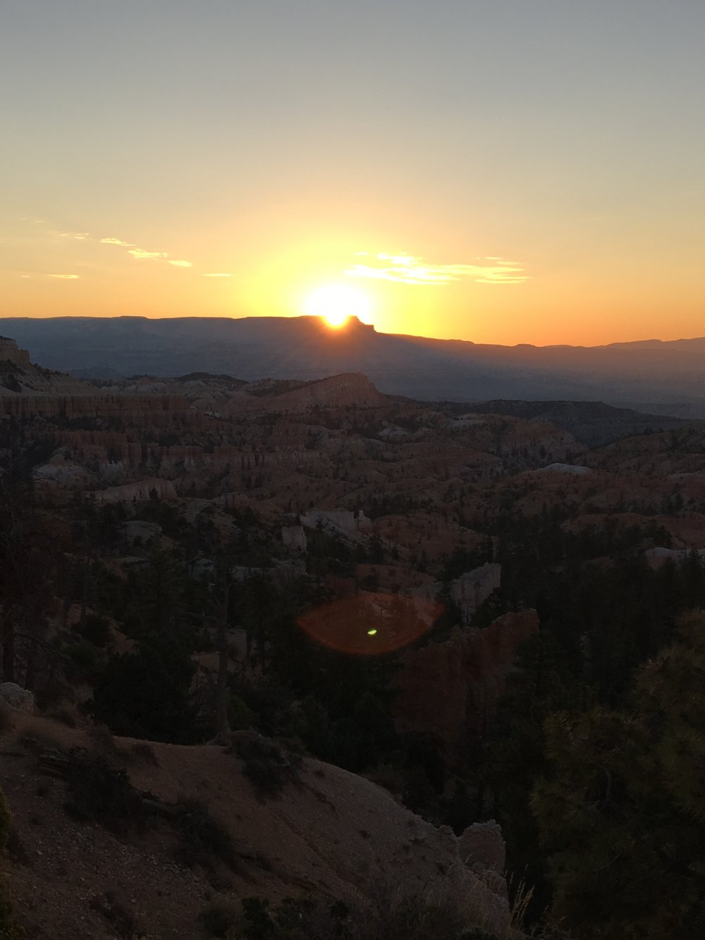 You can see why they call it Sunrise Point, right?