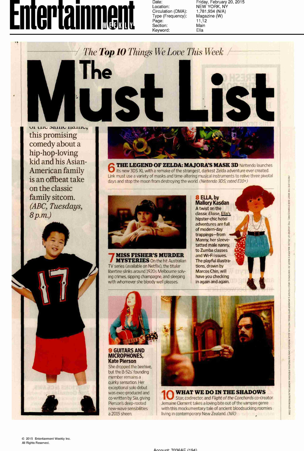 entertainment magazine press clip must list ella by mallory kasdan.png