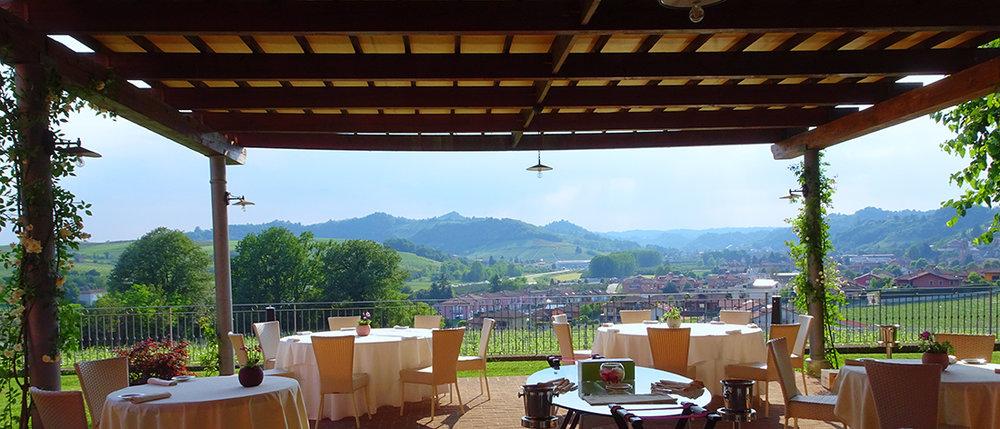 Restaurante   21.9, na Tenuta Carretta, guiado pelo estrelado chef Flavio Costa