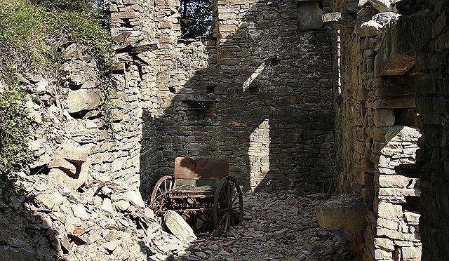 O inicio da Villa dell'Orso