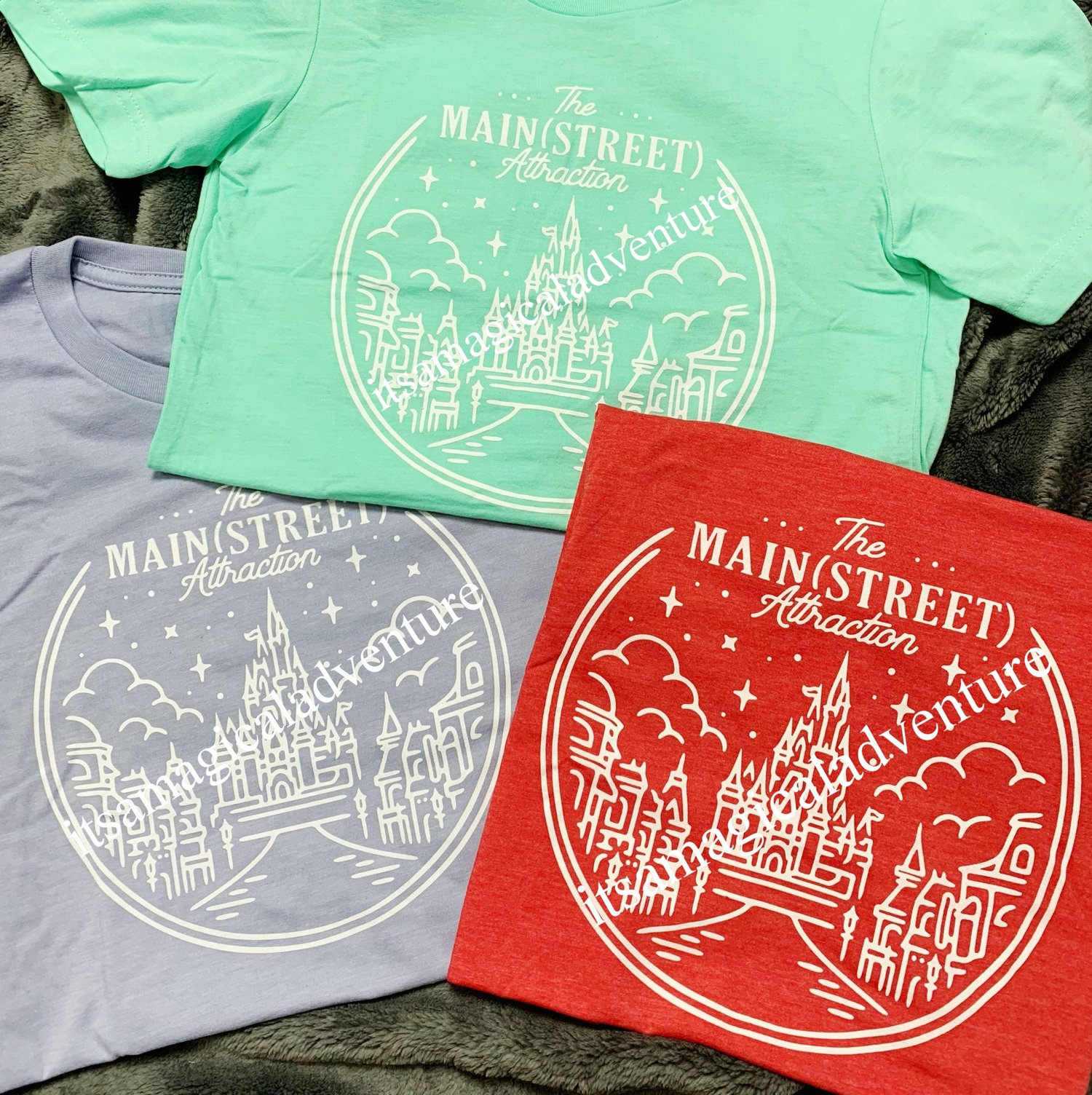 Main Street Attraction Disney Tee