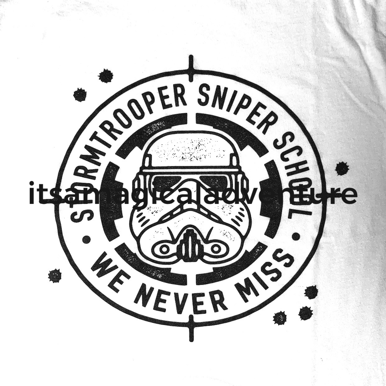 Storm Trooper Sniper School Tee