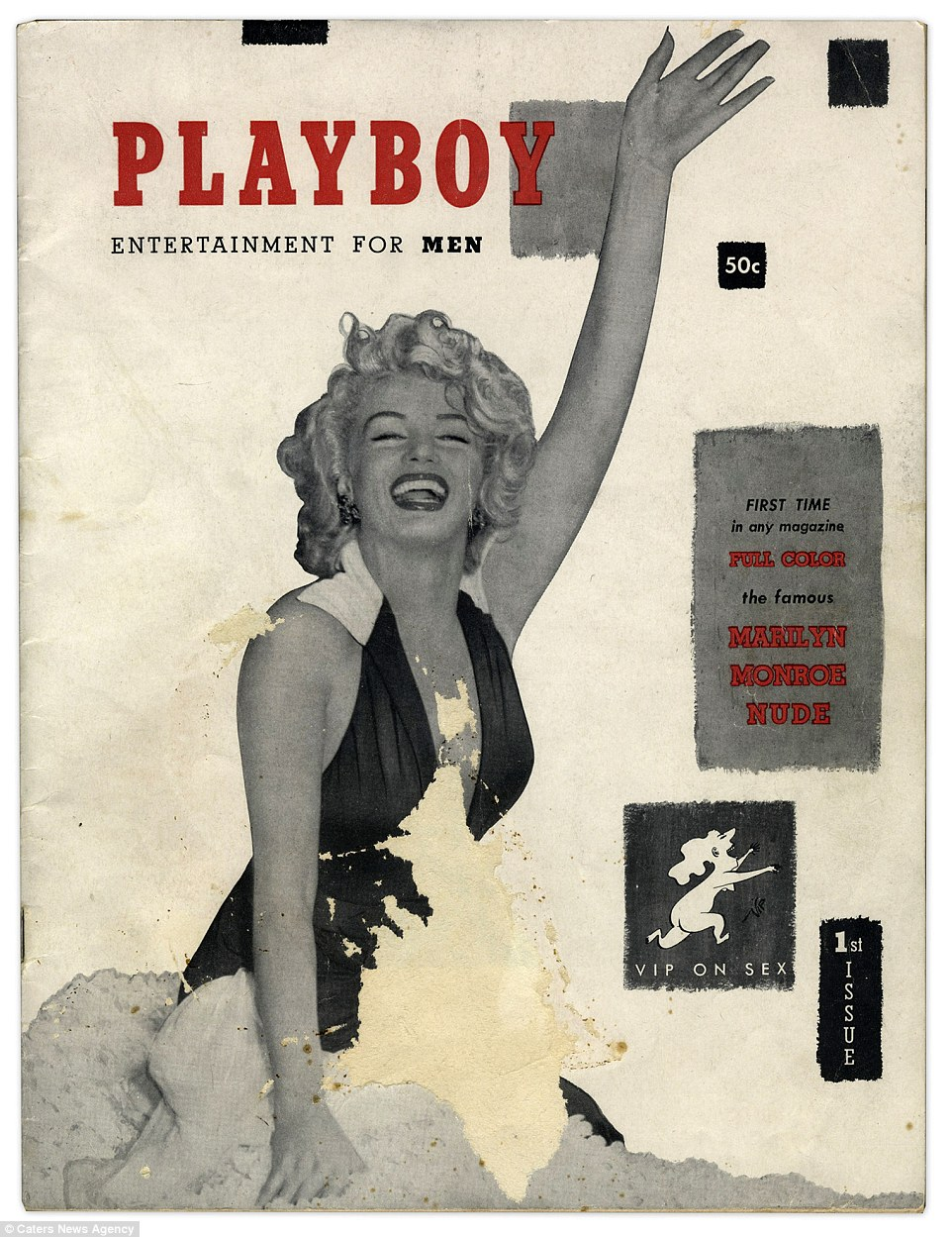 Side bar:In the first ever issue of Playboy there are instructions laid out inside for the unassuming and naive woman who might stumble across the magazine: 'If you're somebody's sister, wife or mother-in-law and picked us up by mistake, please pass us along to the man in your life and get back to your Ladies Home Companion.'