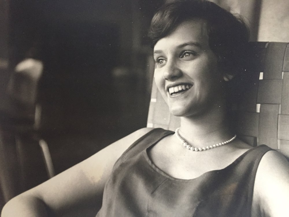 My mother in her early 20s.  This post is dedicated to my mother . . . a person who struggled to find balance in her life.