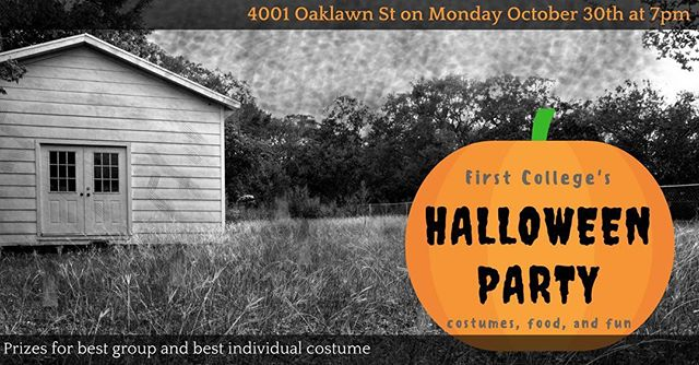 Join us Monday, October 30 at 7pm for our ~spooky~ Halloween party! 🎃👻