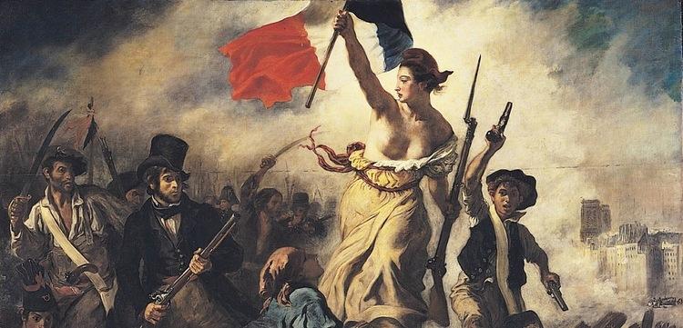 La Liberté Guidant Le Peuple / Liberty Leading The People - Delacroix (1830)