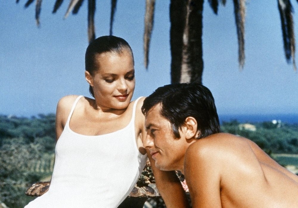 La piscine swimming pool Alain Delon Romy Schneider