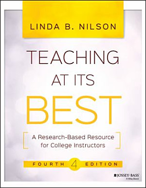 A quick-start guide and desk reference for teaching in higher ed utilizing research-based evidence on best pedagogical practices. -
