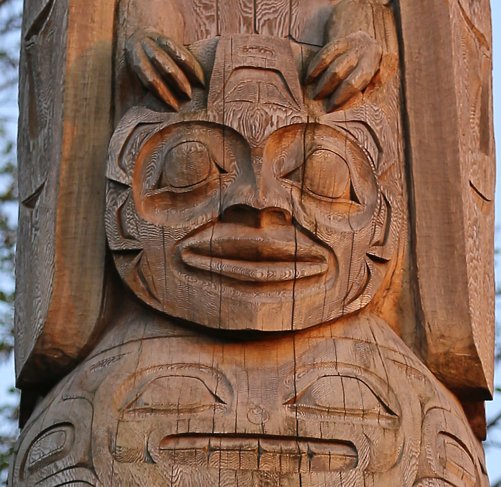 Healing Heart Totem Pole in Craig Alaska