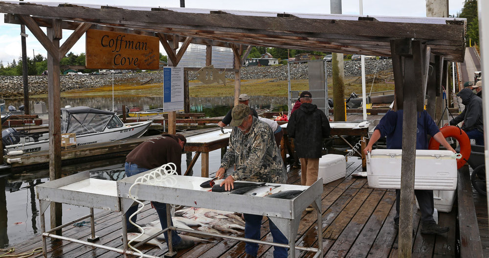 Coffman Cove Alaska Fish Cleaning Station