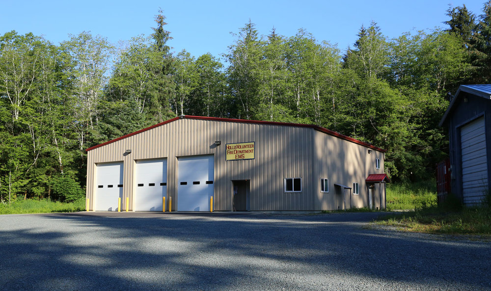 Hollis Alaska Fire Hall and EMS headquarters