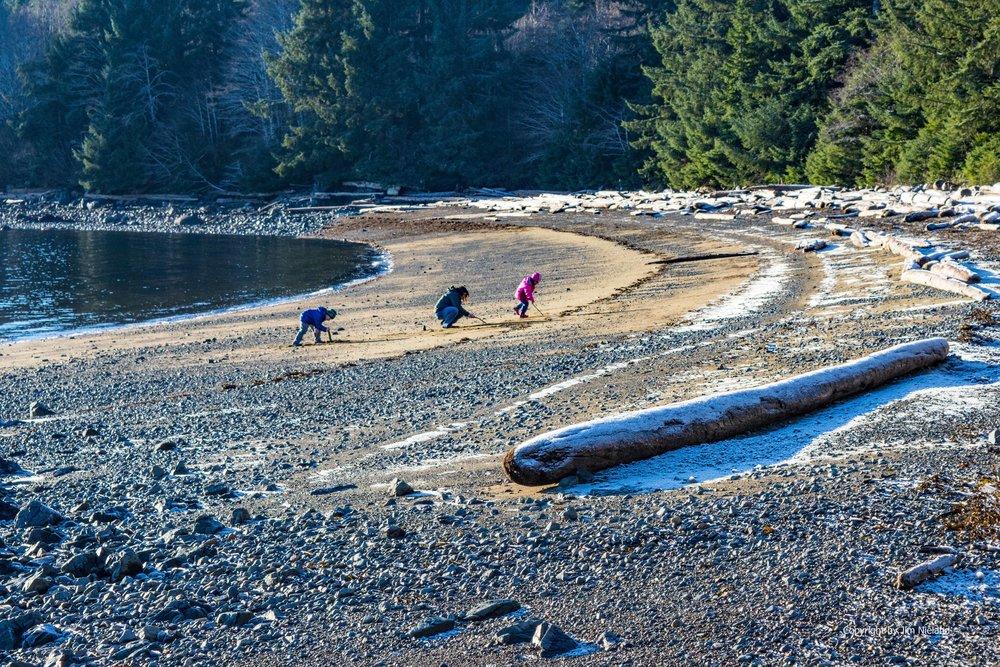Travel and visit Sandy Beach Thorne Bay Prince of Wales Island Southeast Alaska