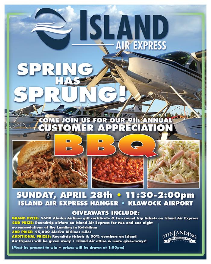 Island Air Express Customer Appreciation BBQ