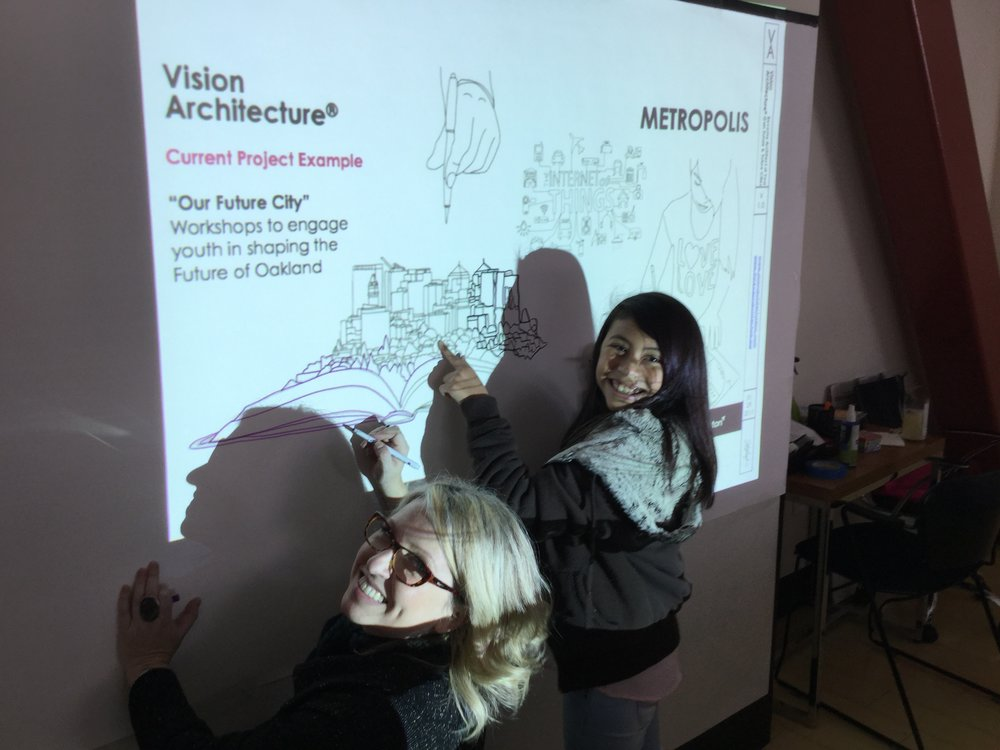 Vision Architecture & Oakland Youth Kick Off 2017 with