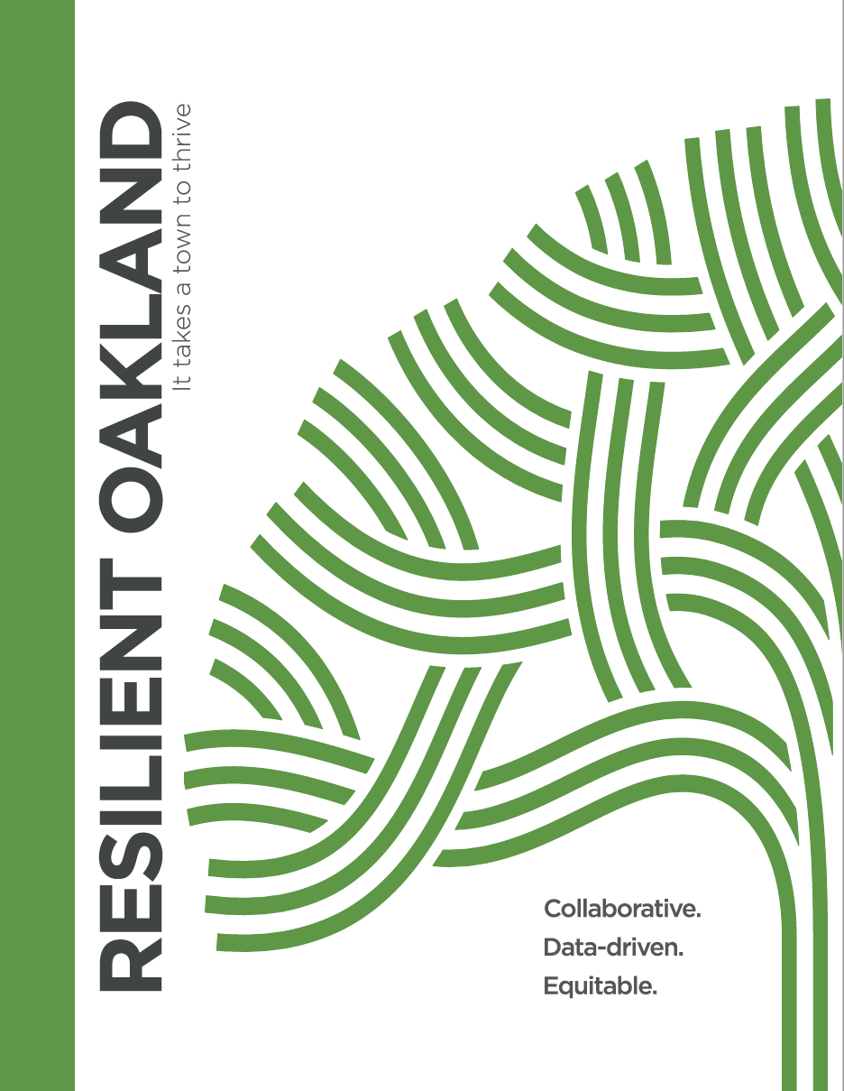 Rockefeller Foundation's 100 Resilient Cities Challenge - Resilient Oakland Program Playbook