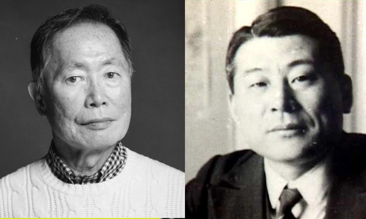 Iconic actor and activist George Takei and Japanese envoy to Lithuania, Chiune Sugihara