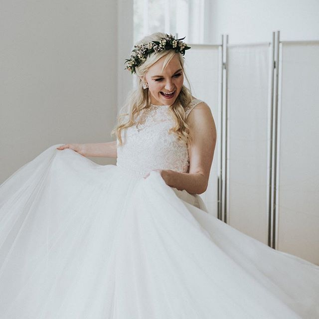 twirling through this week with big smiles on our faces because we absolutely LOVE what we do ✨ loving on brides in pretty dresses is our specialty and we are so blessed to do it!