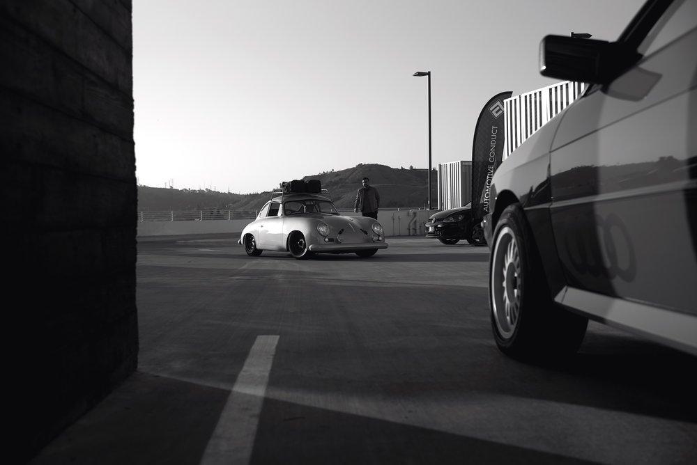 Auto Conduct Platform LA Culver City Rod Emory Porsche 356 Outlaw Raz Krog