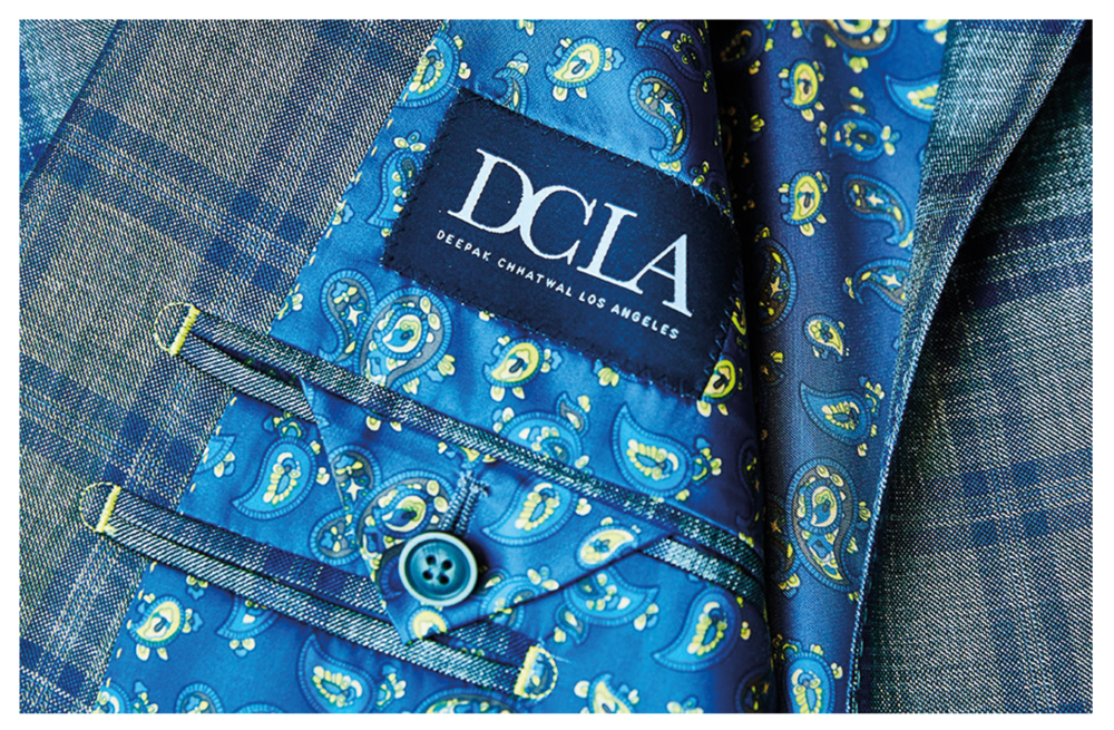 Sports Jacket by DCLA - Fabric by Dormeuil