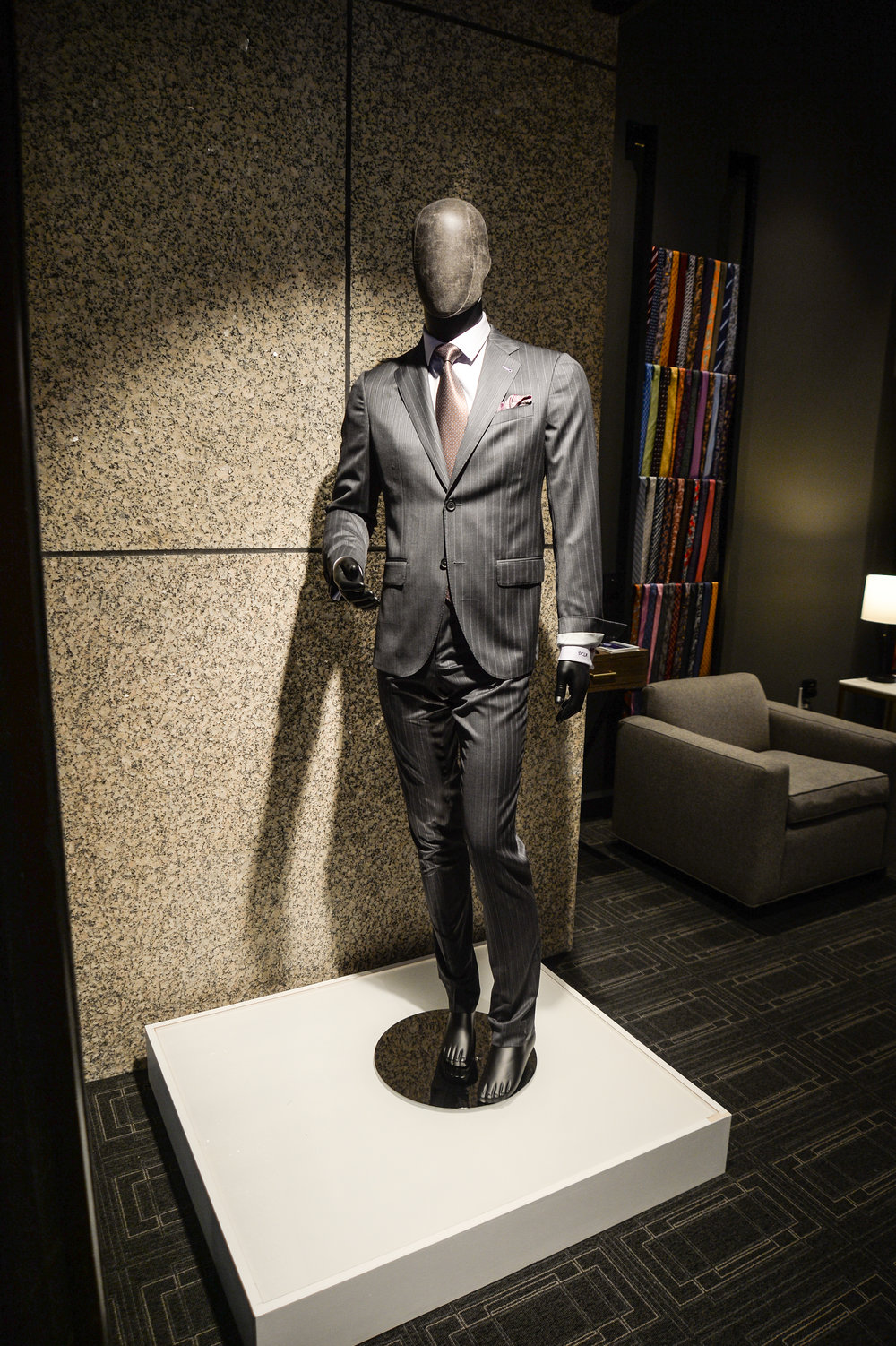 Suit by DCLA - Fabric by Charles Clayton