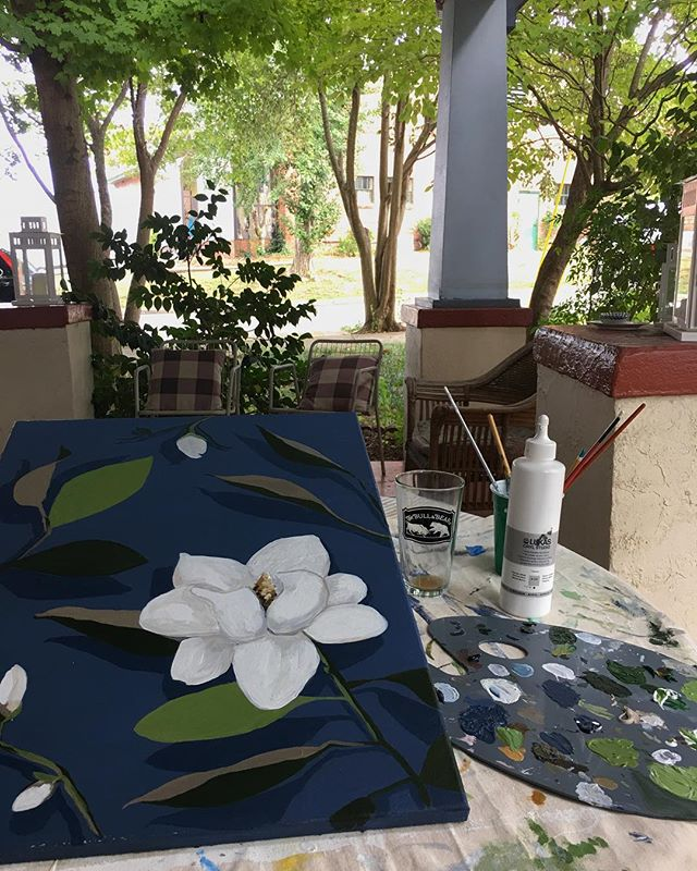 porch paintin' 🙌🏼