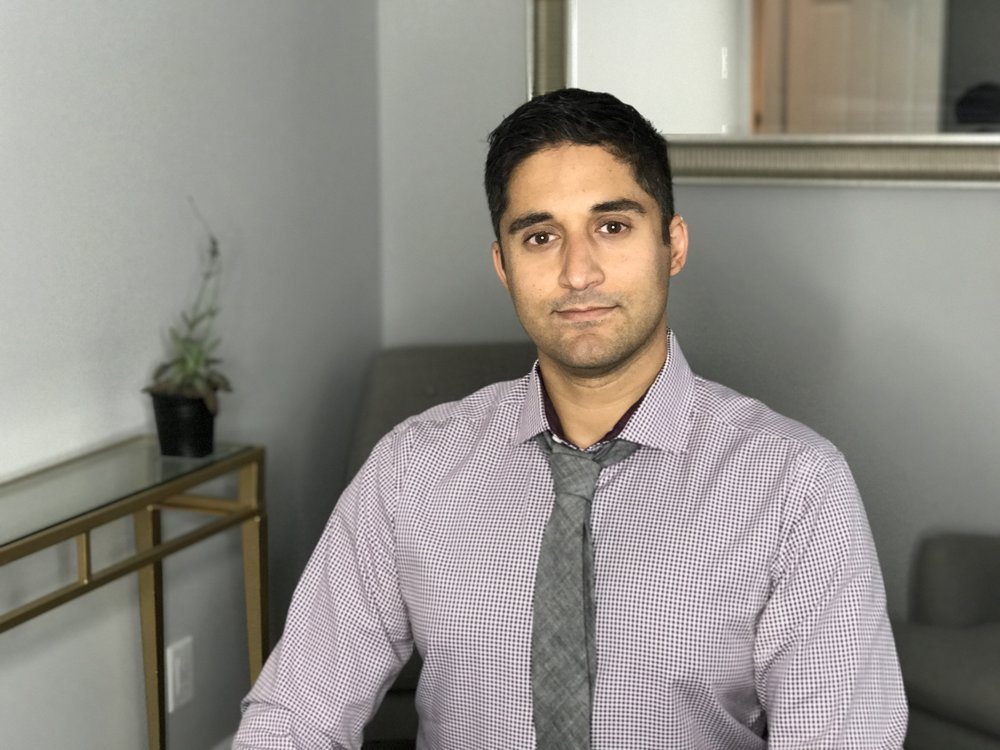 Shaun Ali, MSW RSW - Specialized in supporting:Stressed and Depressed ProfessionalsAngry, Hurt and Disconnected CouplesTrauma, PTSD, Veterans, EMS, Police